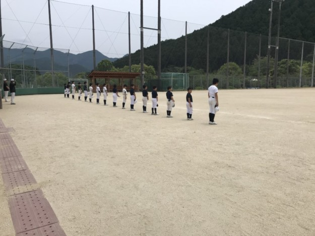 宇和ボーイズ小学部、練習を再開して1週間が経ちました。