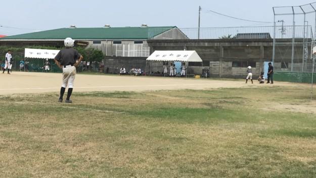 マルコメ1号、中学軟式野球部の練習試合にデビュー!