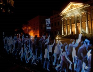 Holograms for Freedom – Thousands Protest Spain's Gag Laws as Holograms  We-Are-Not-Crime-%E2%80%93-Thousands-Protest-Spain%E2%80%99s-Gag-Law-As-Holograms-VIDEO--300x232