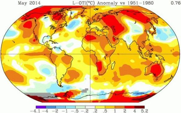 "Climate Engineering, El Niño and the Bizarre ""Scheduled Weather"" for the Coming Winter in The US - Anomalous Temperatures Map"