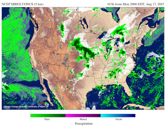 "Climate Engineering, El Niño and the Bizarre ""Scheduled Weather"" for the Coming Winter in The US - West Coast Precipitation Map"