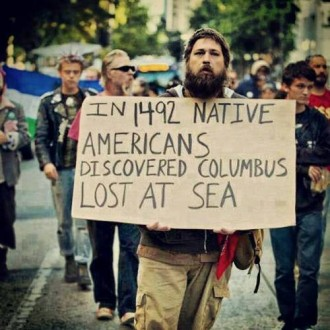 Celebrating Genocide – Christopher Columbus' Conquest of America - In 1492 Native Americans Discovered Columbus Lost at Sea