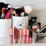 Organizing Beauty Products with Gordmans