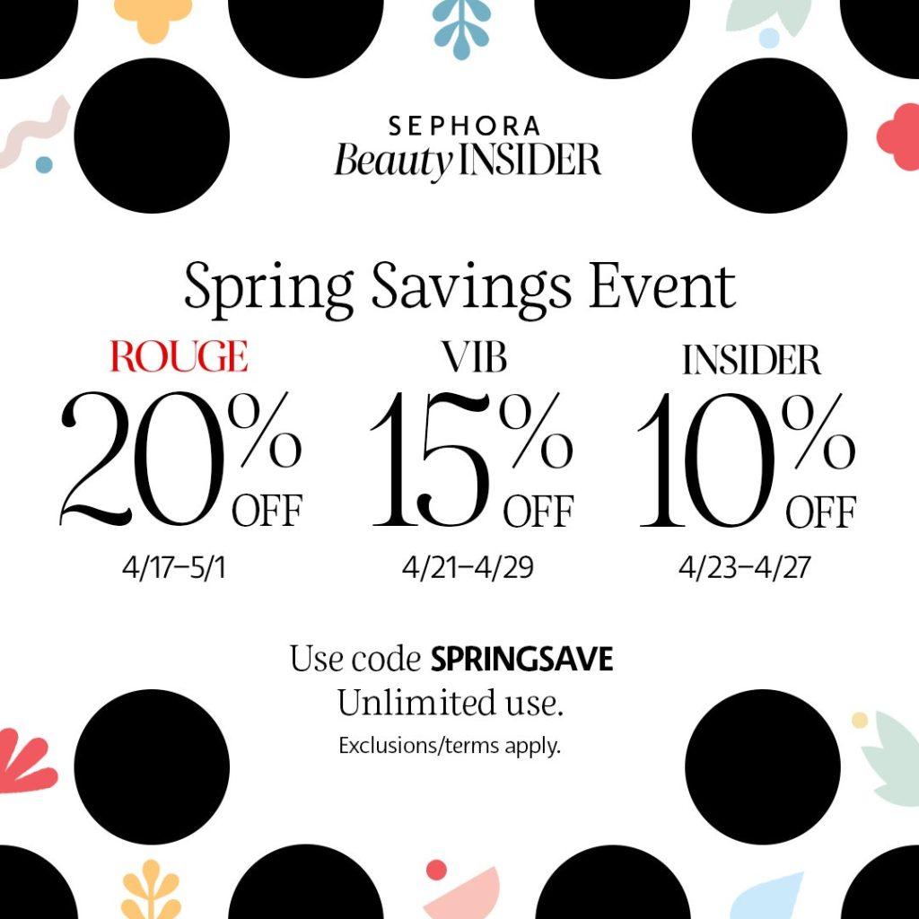 sephora spring sale picks 2020
