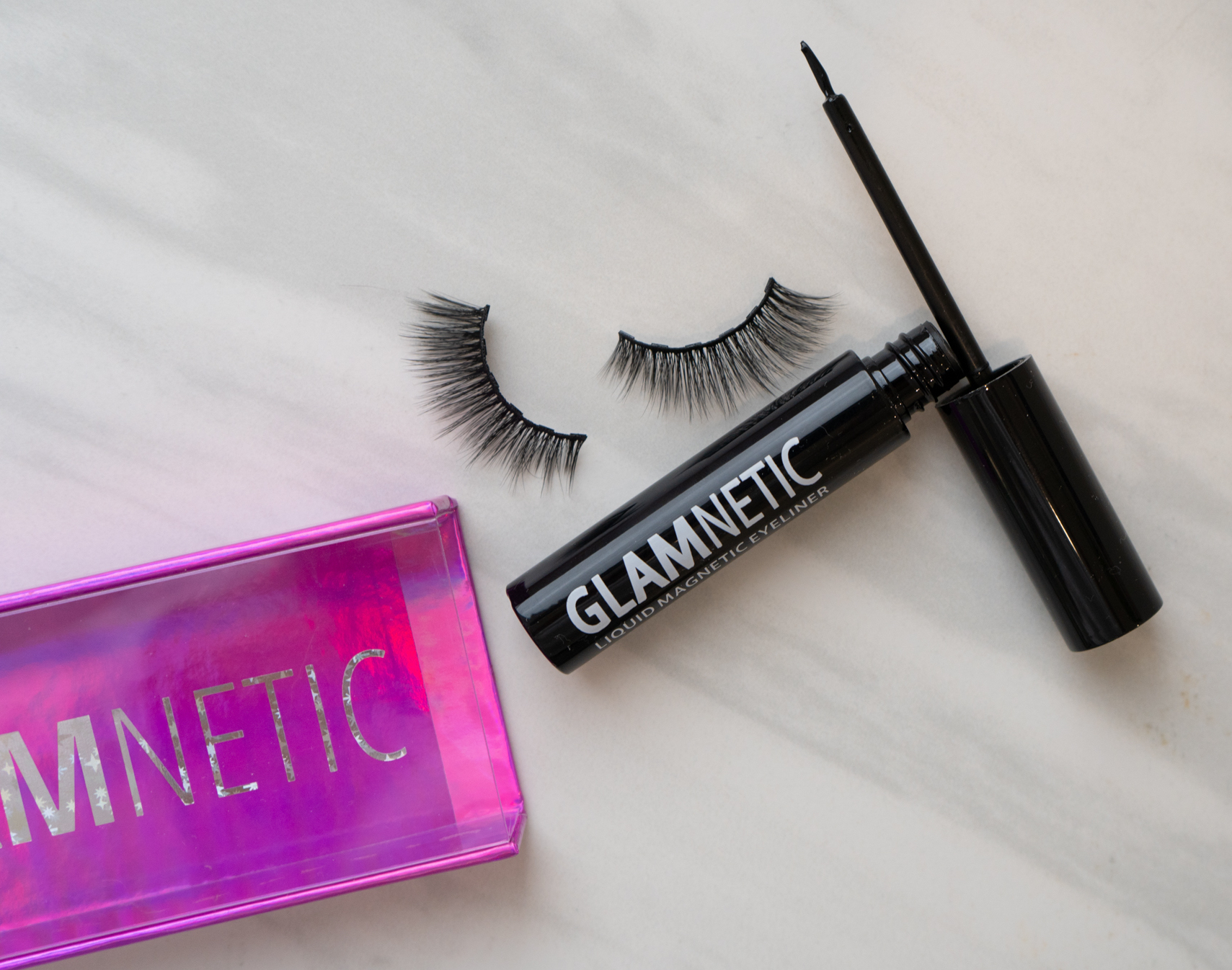 glamnetic magnetic eyelashes in Verified