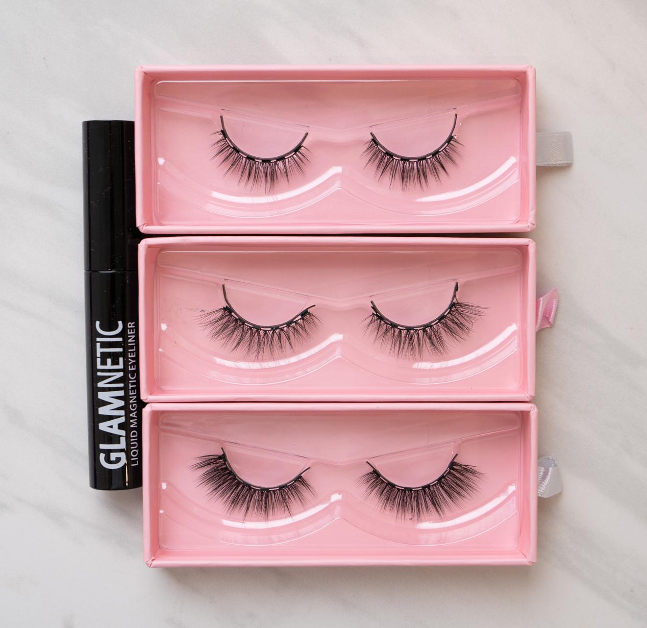 glamnetic magnetic eyelash styles