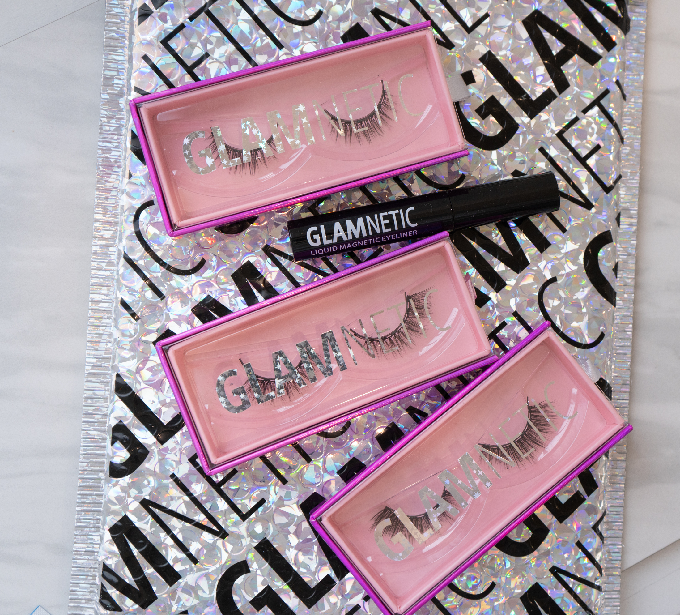 glamnetic magnetic eyelashes