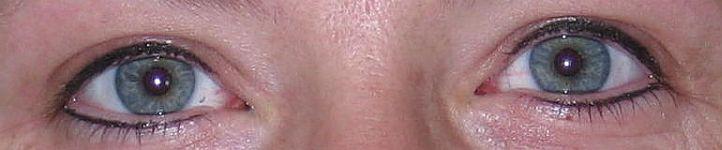 Eyeliner lash enhancement
