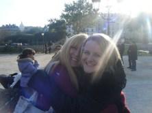 Leigh and Laura B, Paris