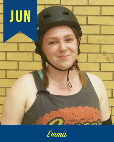 June 2017 Skater of the month - Emma