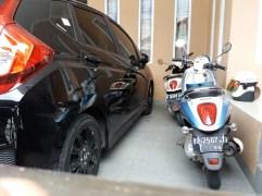 2 buah motor Scoopy milik Aguslan Busro.