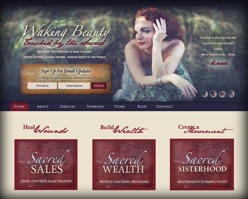 Welcome to the New Waking Beauty!