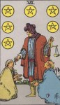 VI of Pentacles