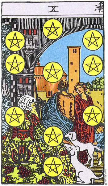 IX of Pentacles