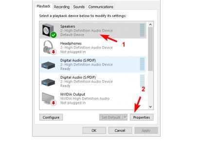Cara Memperbaiki laptop tidak ada suara Windows