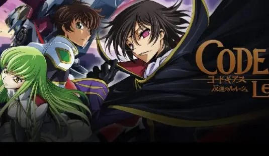 anime Code Geass: Lelouch of the Rebellion overpower terbaik