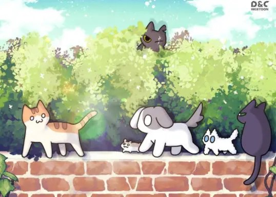 Manhwa Cats Own the World