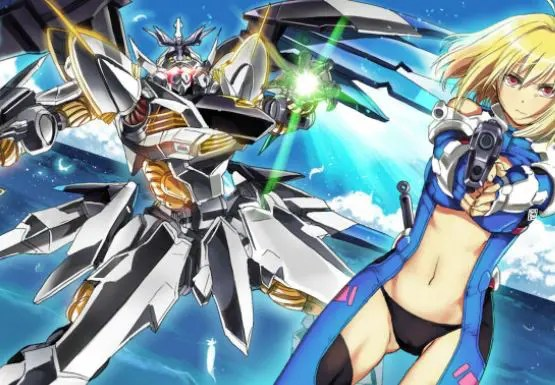 Anime Cross Ange: Rondo of Angels and Dragons