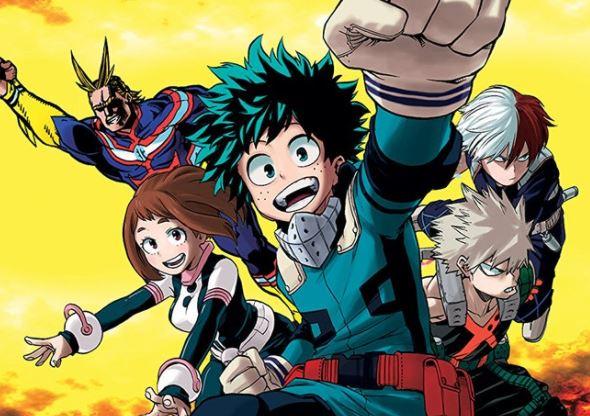 anime Boku no Hero Academia