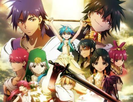 Anime Magi: The Kingdom of Magic