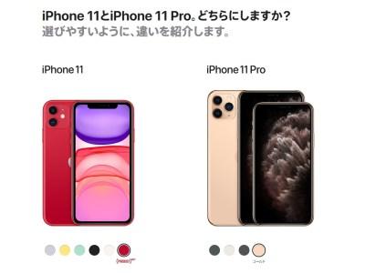 iPhone11やiPhone11PROを購入するの?