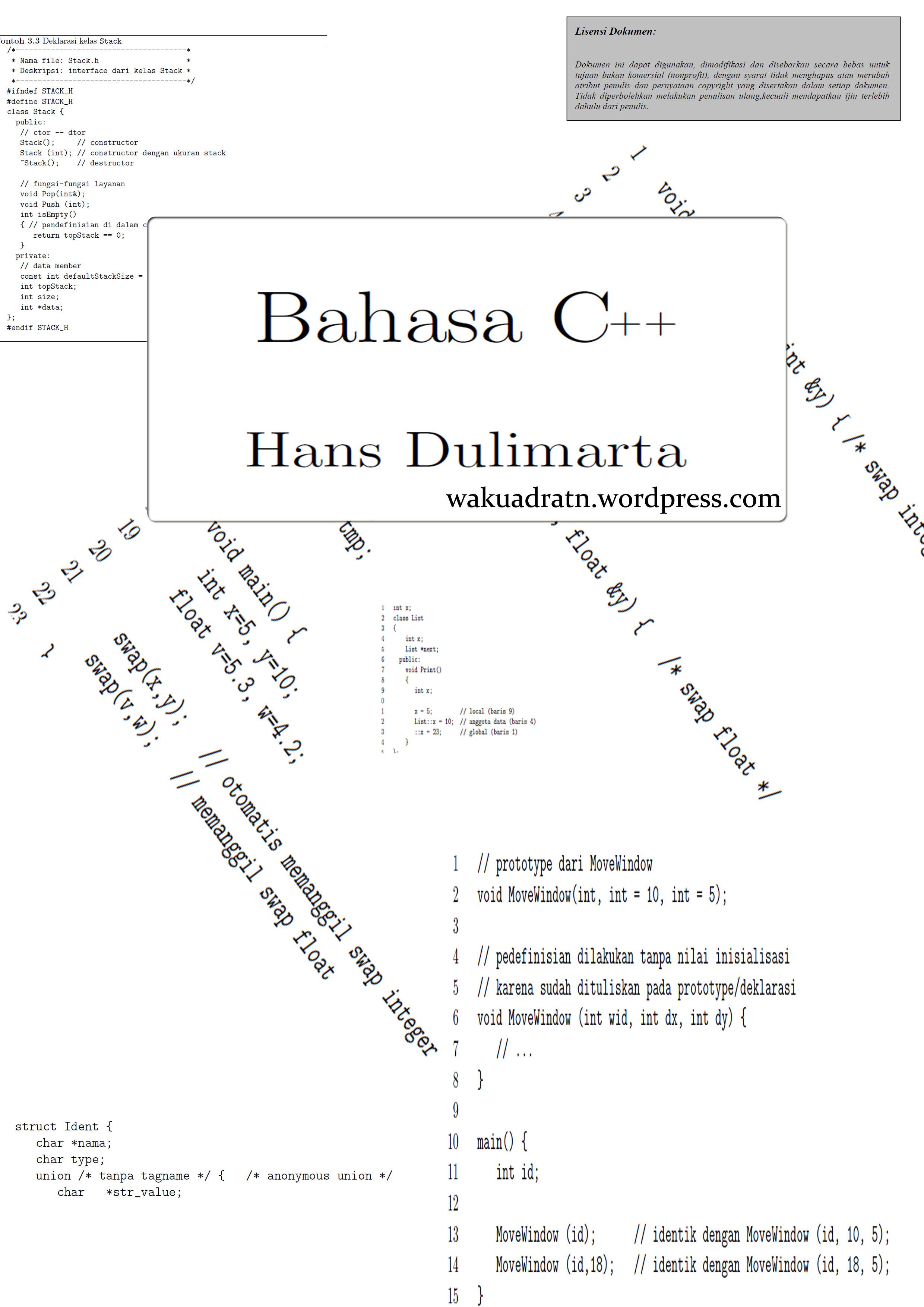 Tutorial Bahasa C : tutorial, bahasa, Ebook, Tutorial, BAHASA, Wakuadratn