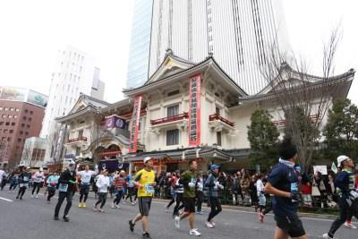 東京マラソンのコースは東京見物です
