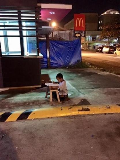 ホームレス少年