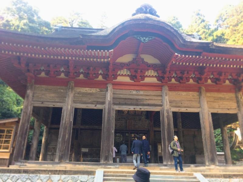鰐淵寺 本堂