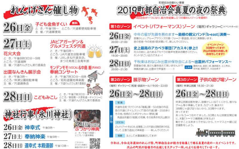 れんげ祭り2019 イベント