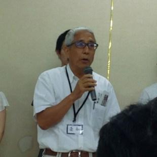 講評 大宮アルディージャ後援会理事長・染谷さん