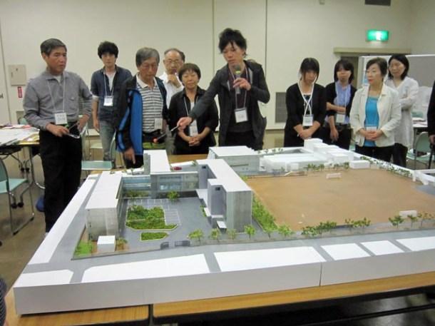 志村研究室より模型の説明
