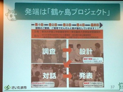 このゲームの発端は鶴ヶ島プロジェクト