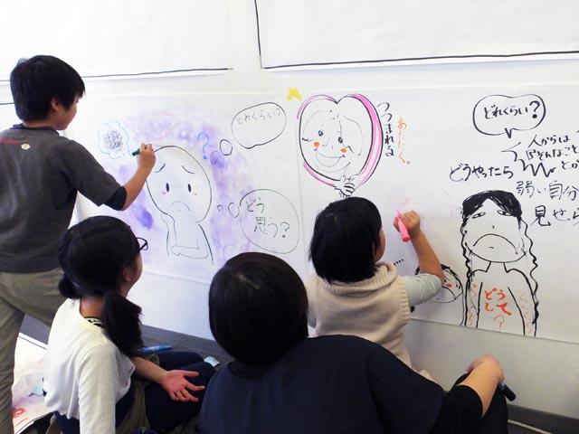 小学生グラフィック・ハーベスター登場