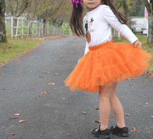 ハロウィンのかぼちゃの衣装