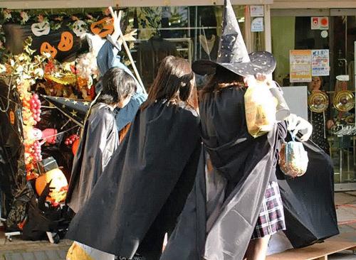 ハロウィンのイベント