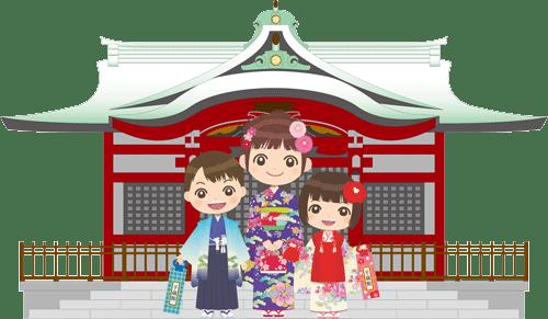七五三の神社