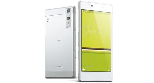 auキュアフォン(Qua phone KYV37)
