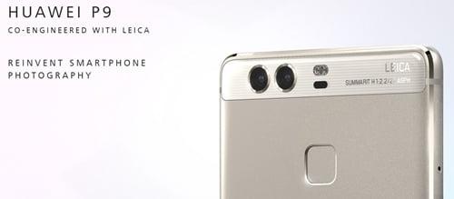 Huawei P9の日本発売日や価格は?スペックについても