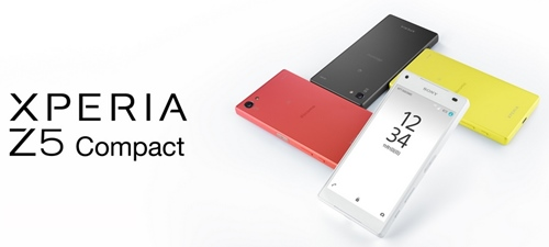 Xperia Z5 Compactトップ画像