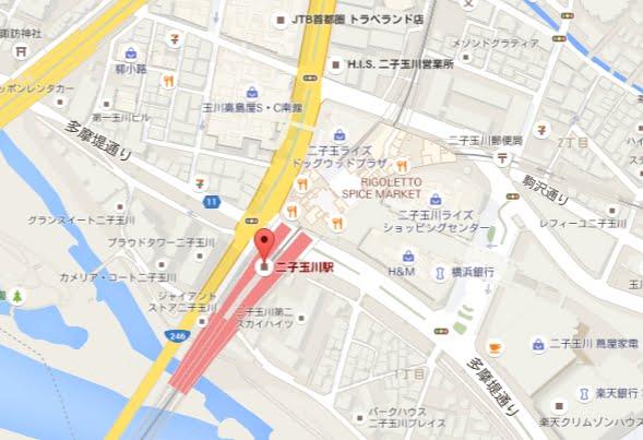 楽天モバイル「はじめてのスマホ塾」会場マップ