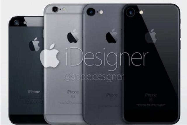 iphone7本体カラー画像