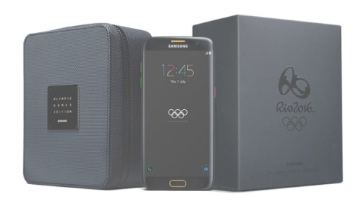 Galaxy S7 edgeのオリンピックモデル「Olympic Games Limited Edition」登場!