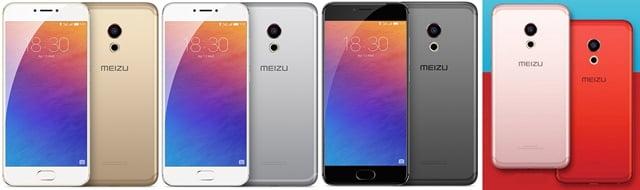 Meizu Pro 6本体カラー
