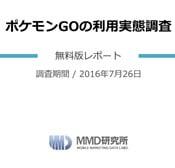 ポケモンGOの評判(MMD研究所調べ)