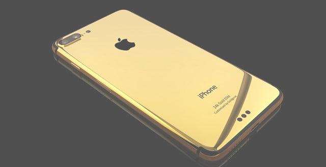 GoldgenieiPhone7デコレーション