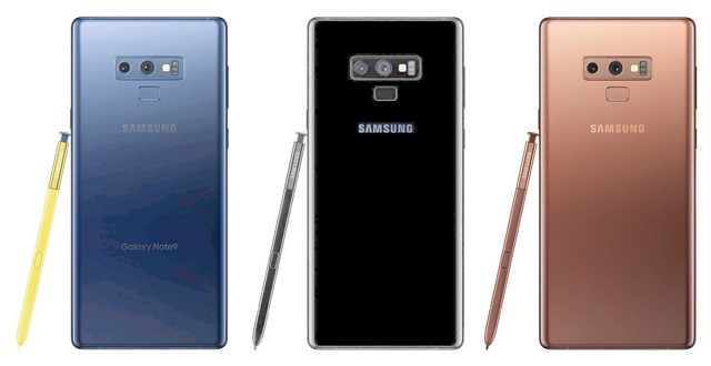 Galaxy Note9本体カラー