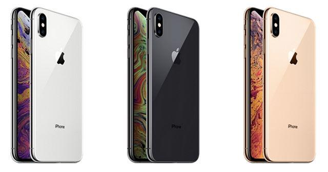 iPhoneXsMaxの本体カラー