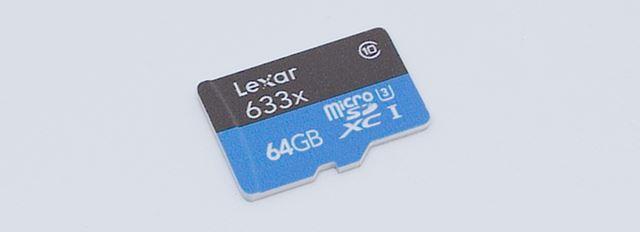 iPhoneとマイクロSDカード