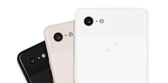 Pixel 3本体カラー